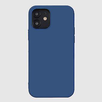 Sininen iphone 12 pehmeä silikonikotelo