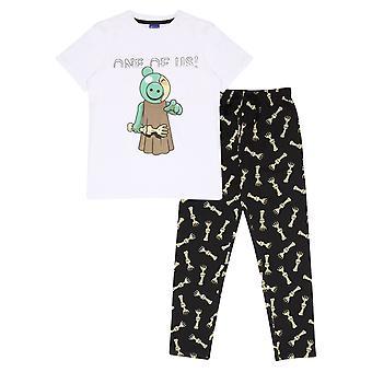 Officielle Kids Piggy Long Pyjamas Sæt Zombie En af os drenge Piger