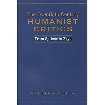 The twentieth-century humanist critics