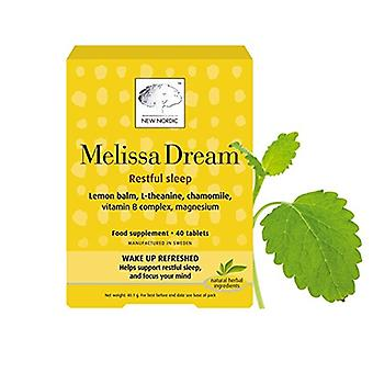 New Nordic, Melissa Dream,40 tablets