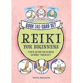 Press Here Reiki for Beginners Book and Card Set Your Guide to Subtle Energy Therapy
