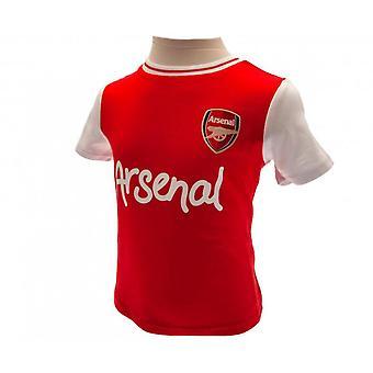 Arsenal FC Baby Unisex Shirt & Short Set