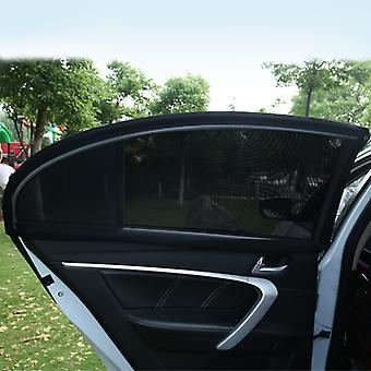 Auto zijraam zonwering in 2 pack universal fit auto raam schaduw