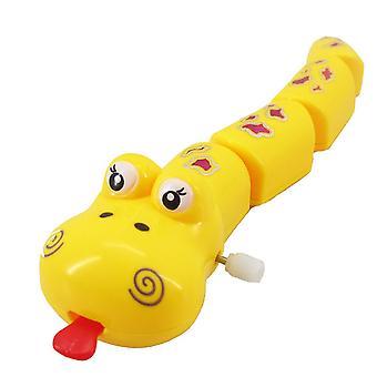 Klassische Plastik Schlange Form Spielzeug Lustige süße zarte Haarstreifen Spielzeug