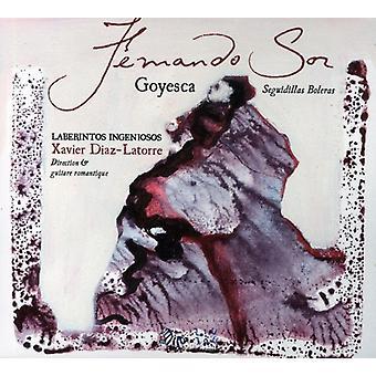 Fernando Sor - Fernando Sor: Seguidillas Boleras [CD] USA import