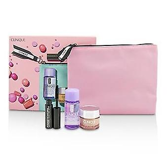 Ensemble de voyage Clinique: All About Eye 15ml ' Mascara 3.5ml ' Eye Makeup Remover 30ml '1bag - 3pcs '1bag