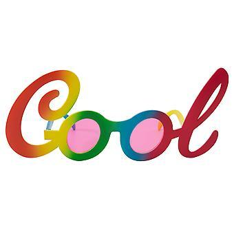 Óculos de sol óculos legal legal óculos de arco-íris de óculos piada