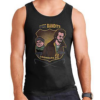 Sticky Bandits Home Alone Men's Vest
