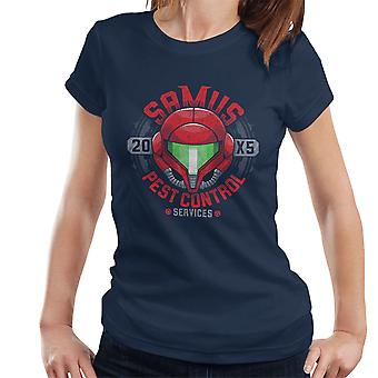 Metroid Samus Pest Control Women's T-Shirt