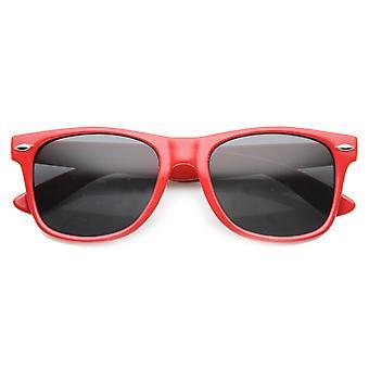 Унисекс квадратных солнцезащитные очки с UV400 защитой составной линзы