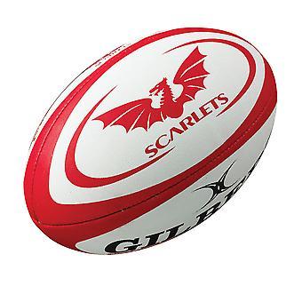 GILBERT scarlets mini rugby ball