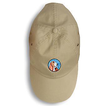 Carolines Treasures  LH9377BU-156 Basset Hound Baseball Cap
