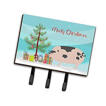 خنزير بقعة غلوستر القديم عيد الميلاد المقود أو حائز المفتاح