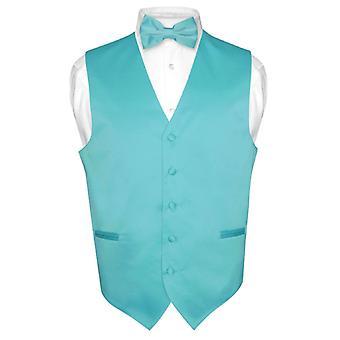 Miesten pukeutuminen liivi & BowTie Solid rusetti Set