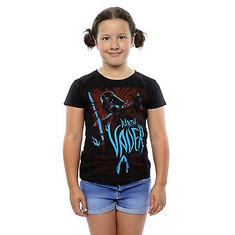 Star Wars Darth Vader Girls Rock plakat T-Shirt