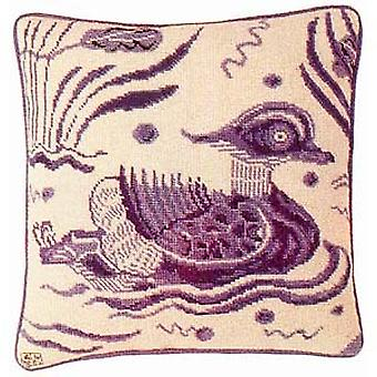 Blue Duck - Right Facing Needlepoint Kit
