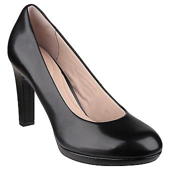 Rockport Womens/Ladies Seven To 7 Ally Plain Slip On Heeled Pumps