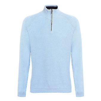 Affordable Fashion Mens State Honeycomb Zip Jumper