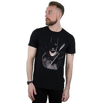 باتمان دي سي كوميكس الرجال باليكس روس تي شيرت
