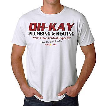 Accueil seul Oh-Kay AKA Wet T-shirt blanc Bandits masculine