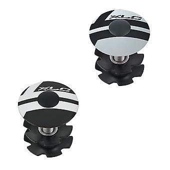 XLC AP-S01 preload Cap 1″ / / Black/Silver