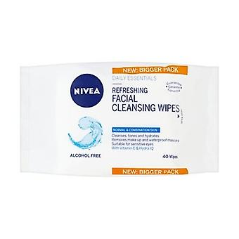 Nivea Refreshing Facial Cleansing Wipes