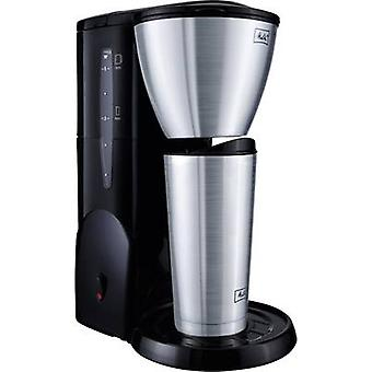 Melitta Single 5 Therm Coffee maker Stainless steel (brushed), Black Cup volume=5 Thermal jug