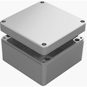 Deltron skap 488-161609A Universal kabinett 160 x 160 x 90 Aluminium grå 1 eller flere PCer