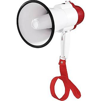 SpeaKa Professional XB-7S Megaphone + strap, Recording function, Built-in sound effects