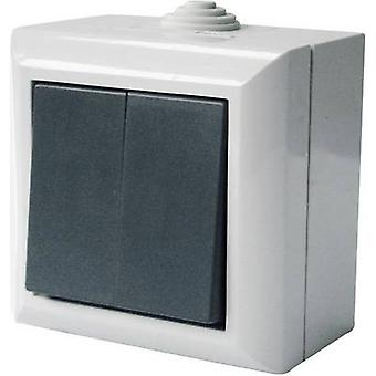 GAO 9166 Wet room switch product range Series switch Business-Line Grey