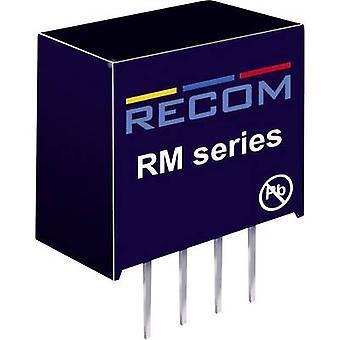 RECOM RM-0505S/P DC/DC omvandlare (tryck) 5 V DC 5 V DC 50 mA 0,25 W nej. av utgångar: 1 x