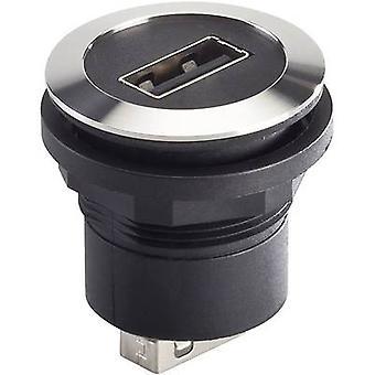 Schlegel RRJVA_USB_AA Socket, built-in