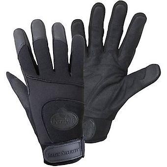 FerdyF. BLACK SECURITY Mechanics 1911 Clarino faux leather Work glove Size (gloves): 10, XL EN 388 CAT II 1 Pair