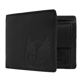 Camel active mens wallet wallet purse with RFID-chip protection black 7380