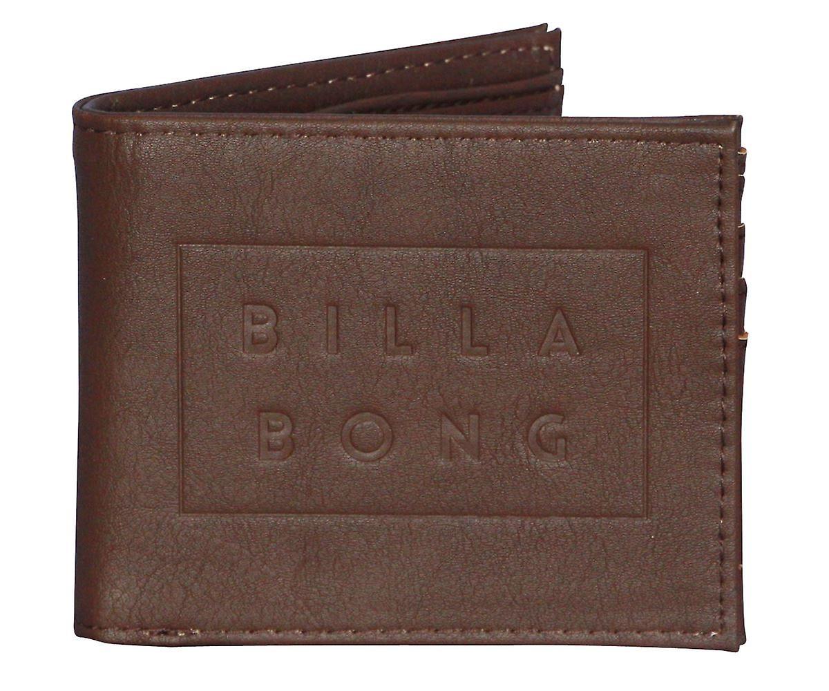 Billabong Wallet ~ Die Cut chocolate