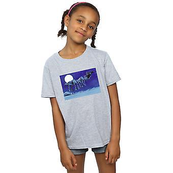 Star Wars Girls Christmas AT-AT Sleigh T-Shirt