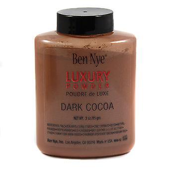 Ben Nye Luxury Powder, Dark Cocoa 3oz
