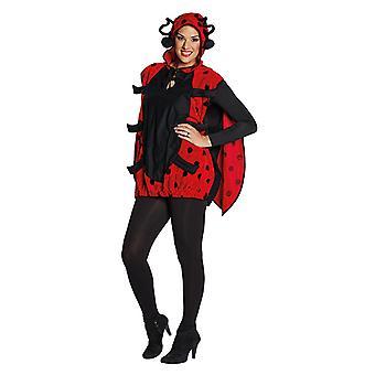 Ladybug lady bug beetle costume hooded tunic animal costume costume for women