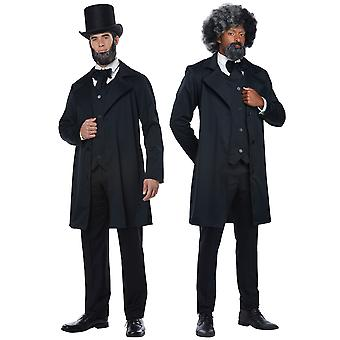 Abraham Lincoln Andrew Jackson Frederick Douglass historische Mens kostuum