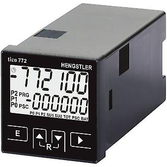 Hengstler tico 772 24 V/AC 2R Multifunctional counter tico 772772 24 V/AC 2R