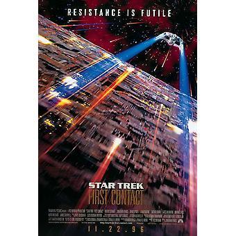 Star Trek ensimmäinen yhteyttä elokuvajuliste (11 x 17)