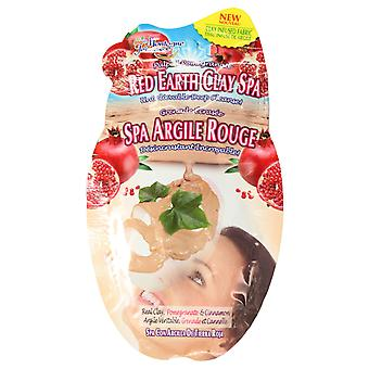 7th Heaven Red Earth Clay Spa Sheet Face Mask