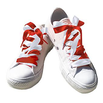 Strawberry and Cream Shoelace Set Laces