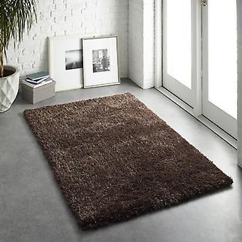 Alfombras Chicago Chocolate rectángulo alfombras llano casi llanos