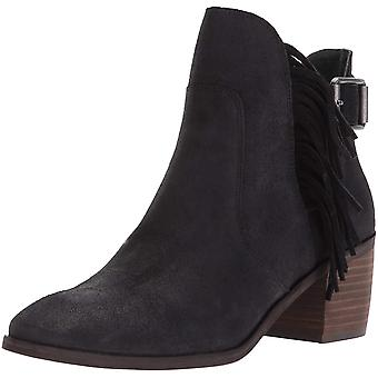 Lucky Brand Womens Makenna Leather Closed Toe Ankle Fashion Boots
