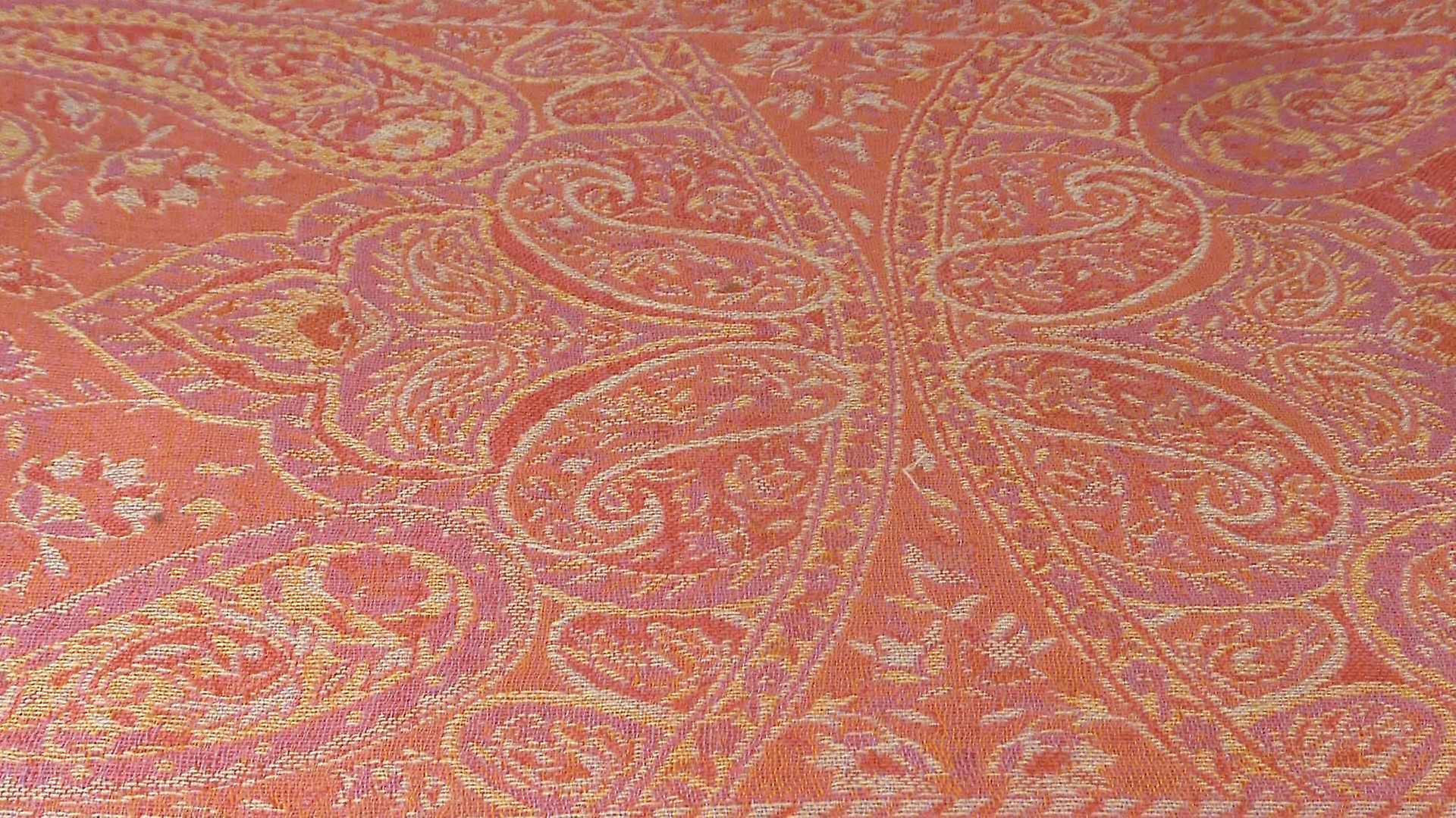 Muffler Scarf 2953 in Fine Pashmina Wool Heritage Range by Pashmina & Silk