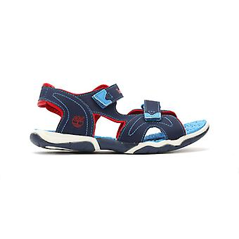 Timberland Junior Navy/Blue/Red Adventure Seeker 2-Strap Sandals