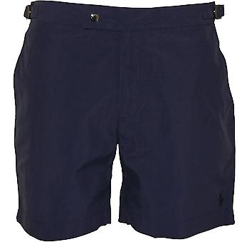 Polo Ralph Lauren Monaco Beach-to-Bar Tailored Swim Shorts, Newport Navy