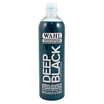 Wahl Showman Deep Black Enhanced Deep Shine Formula Dog Shampoo