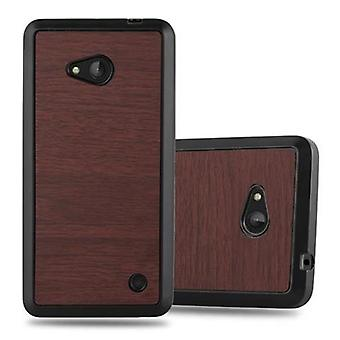 Futerał Cadorabo do obudowy Nokia Lumia 640 - obudowa na telefon komórkowy - silikonowa obudowa ochronna Ultra Slim Soft Back Cover Case Bumper